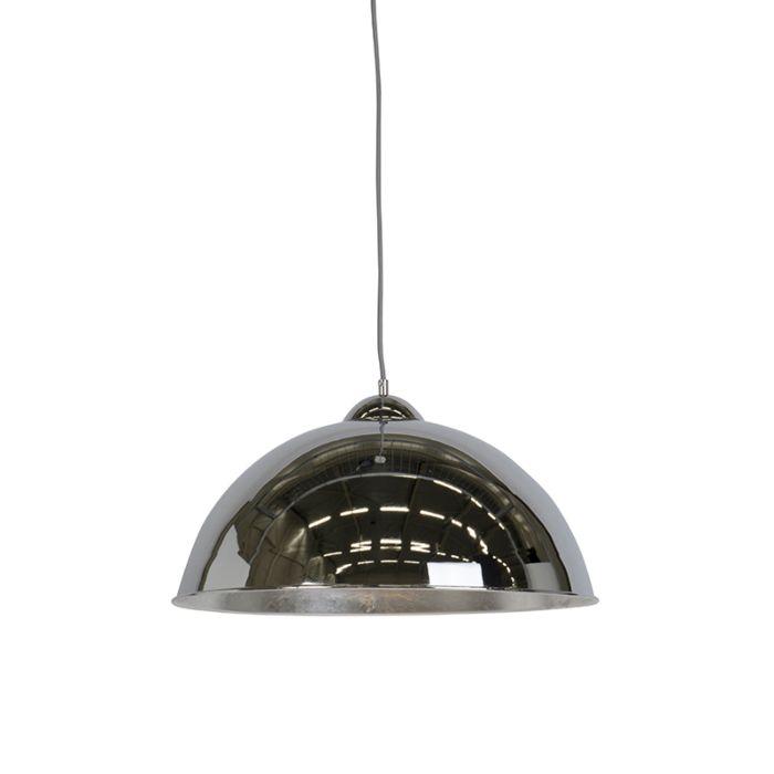 Lámpara-colgante-moderna-cromo-50cm---TATA