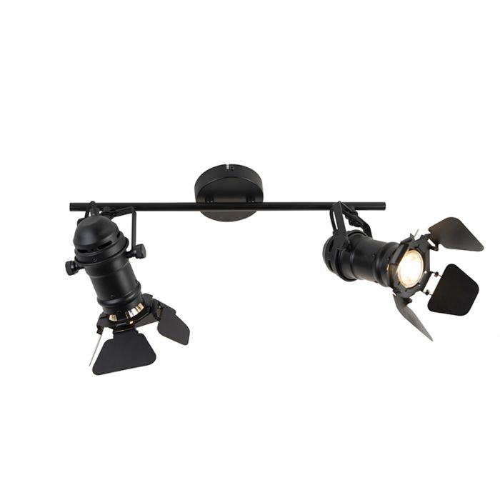 Plafón-industrial-negro-válvulas-2-luces---MOVIE