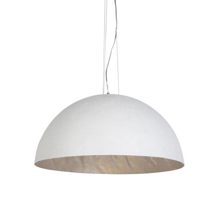 Lámpara-colgante-moderna-blanca-70-cm---Magna