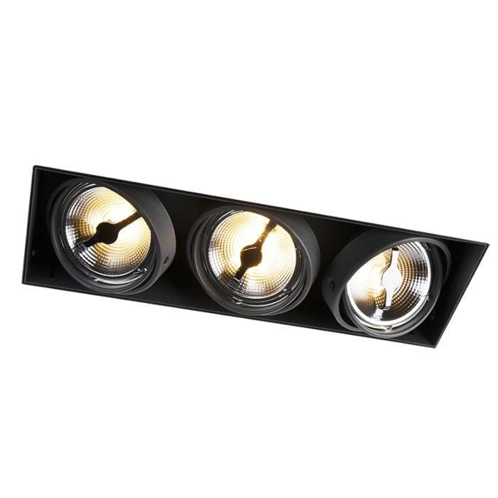 Foco-empotrado-negro-AR111---ONEON-111-3-trimless