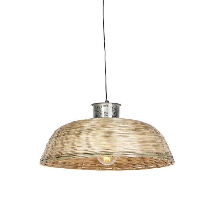 Lámpara-colgante-rústica-60cm-color-bambú-natural--BARLEY-