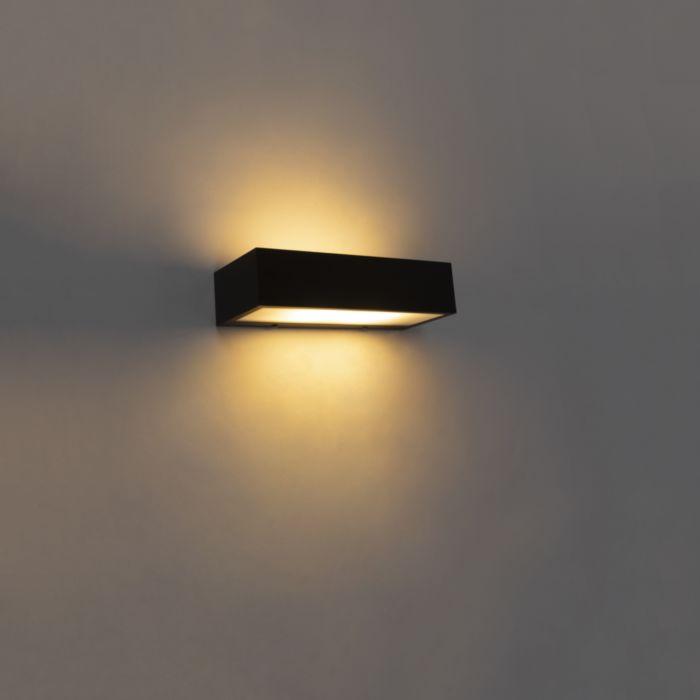 Aplique-diseño-alargado-negro-25cm---HOUX-