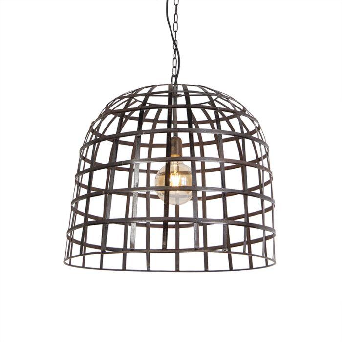 Lámpara-colgante-industrial-acero-60cm---FENCE