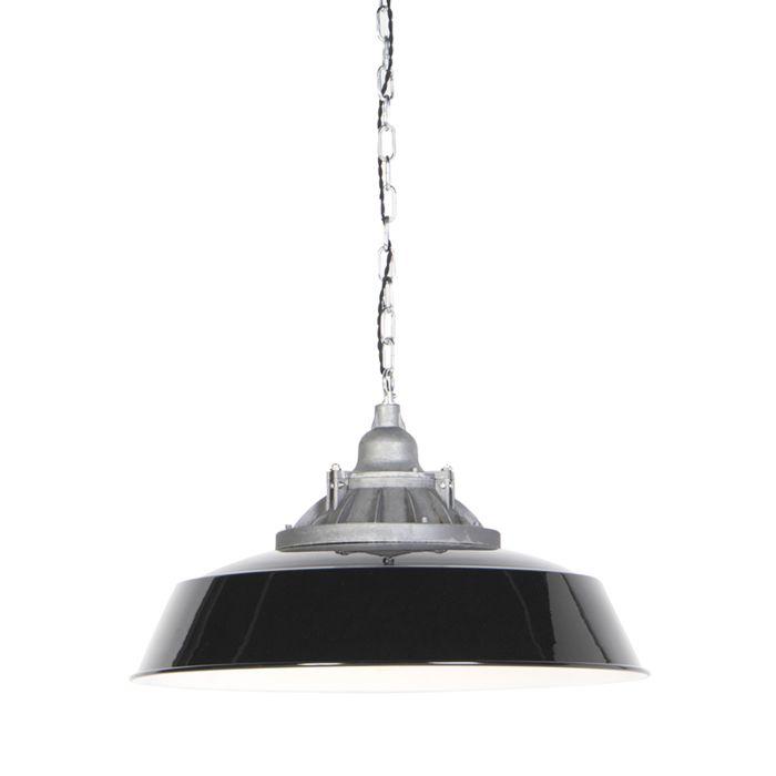 Lámpara-colgante-industrial-negra---TRUCK