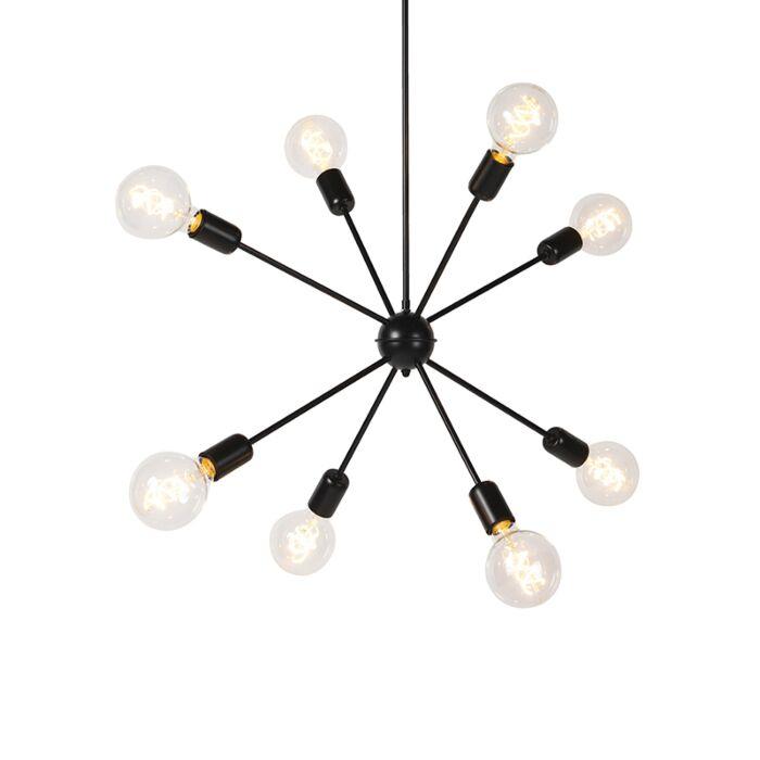Lámpara-colgante-moderna-ajustable-en-altura-8-luces---SPUTNIK