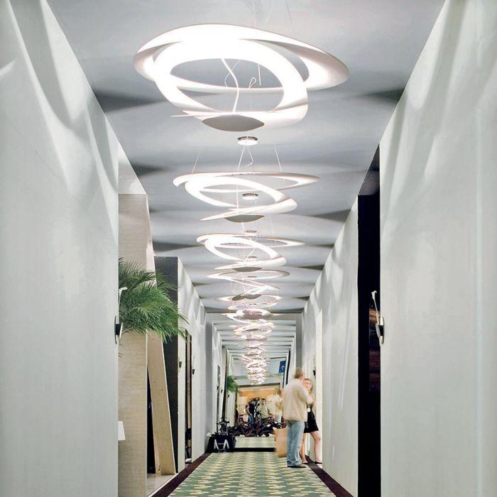 Lámpara-colgante-de-diseño-blanca-69-cm---Pirce-Mini-Suspension