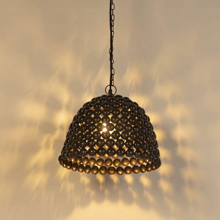 Lámpara-colgante-vintage-35cm-óxido---LILY