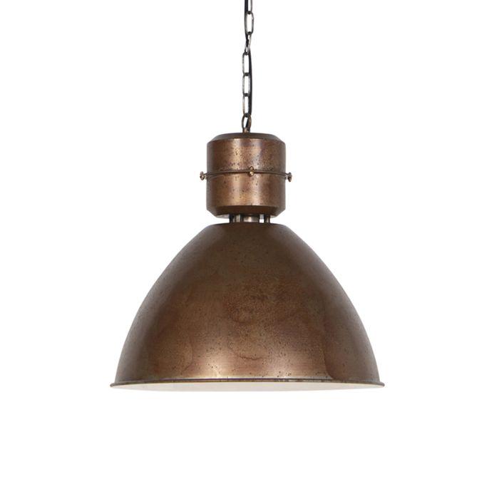 Lámpara-colgante-industrial-óxido---FLYNN-