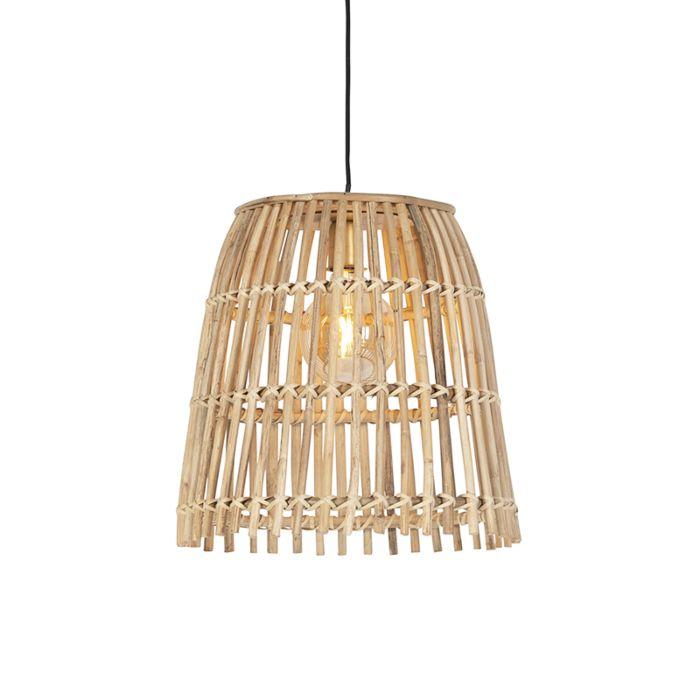 Lámpara-colgante-rústica-bambú-natural---CANE-BUCKET-PEQUEÑA