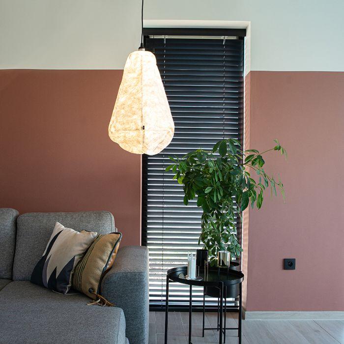 Lámpara-colgante-escandinava-papel-blanco---PEPA-CONO