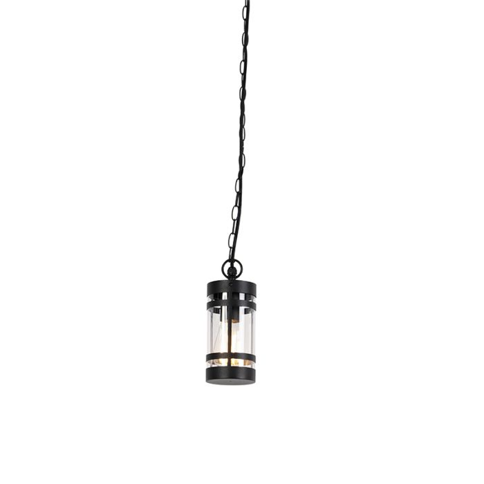 Lámpara-colgante-moderna-negra-IP44---GLEAM