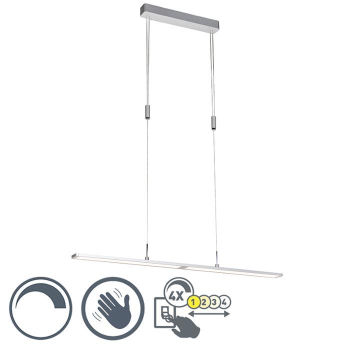 Lámpara-colgante-moderna-de-aluminio-de-tenue-a-cálida-con-regulador-de-intensidad-táctil---Alta