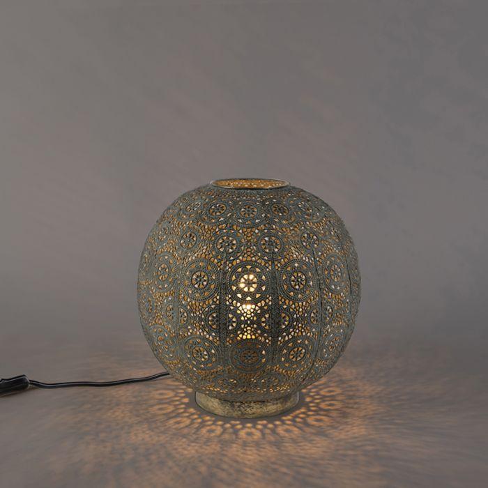 Lámpara-de-mesa-oriental-32-cm---Baloo