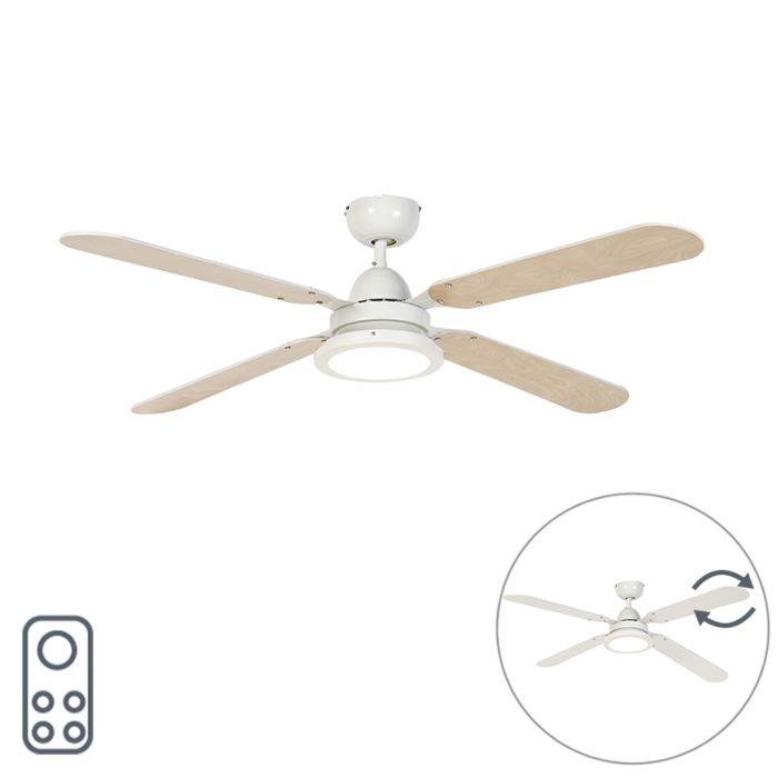 Ventilador-de-techo-blanco-con-control-remoto---Fanattic