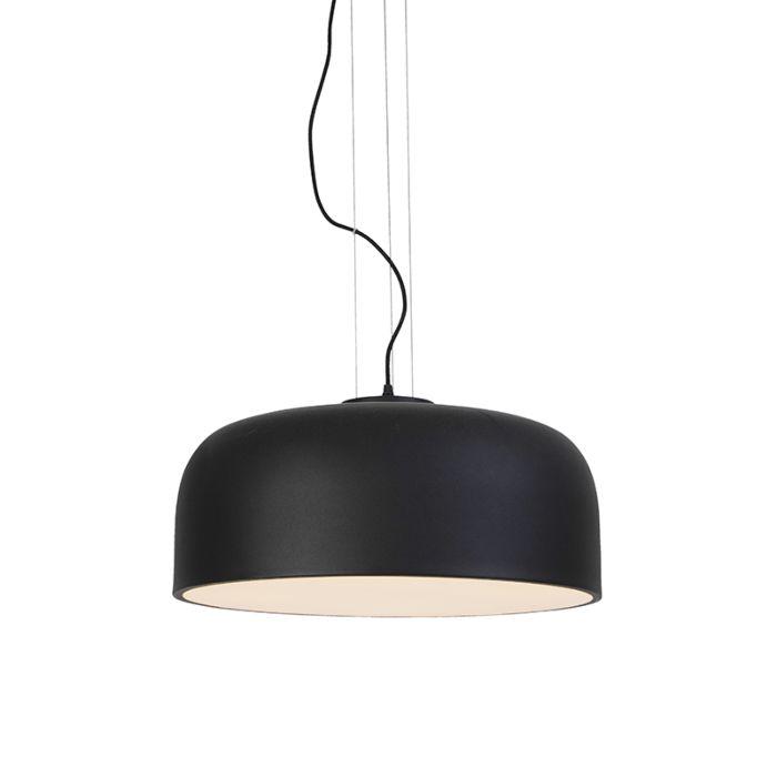 Lámpara-colgante-de-diseño-regulable-negro---Balon