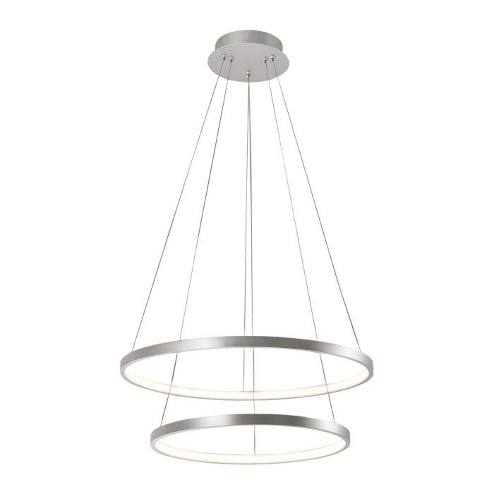 Lámpara-colgante-moderna-plateada-LED---ANELLA-Duo
