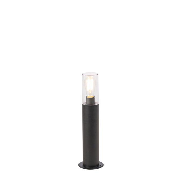 Lámpara-de-pie-moderna-de-pie-negro-50-cm---Rullo