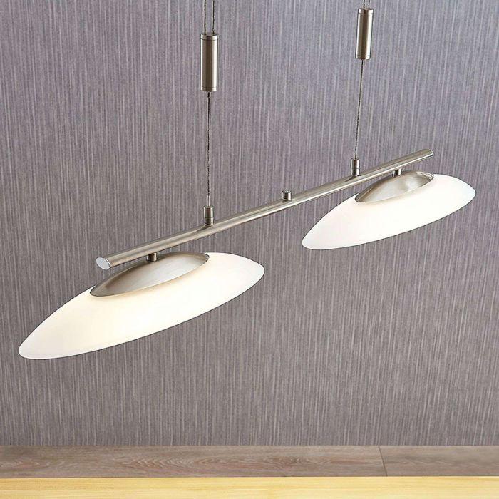 Moderna-lámpara-colgante-de-acero-de-2-luces-con-LED-y-dimmer---Judie