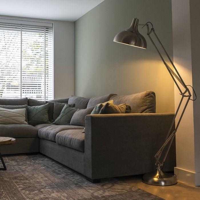 Lámpara-de-pie-industrial-acero-185-cm-ajustable---Hobby