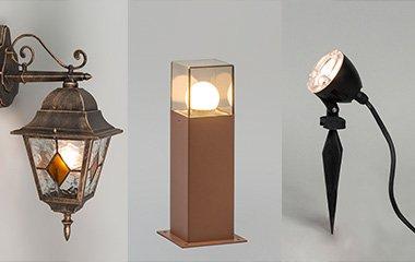 iluminación funcional para exteriores