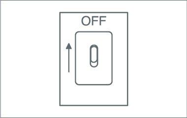 Paso 1. Apaga la electricidad