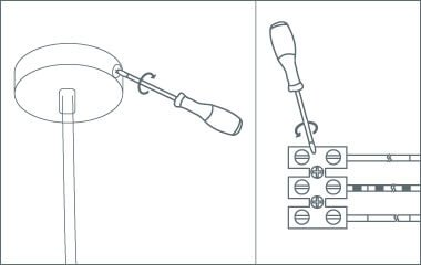 Paso 2. Retira las placas de montaje de las lámparas