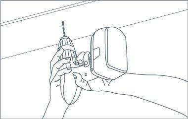 Paso 5. Encaja la placa de montaje al techo