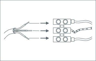 Paso 3. Conecta los cables a la corriente