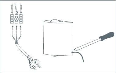 Paso 6: Ponerle enchufe a un aplique